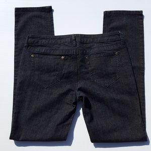 City Streets Dark Denim Jeans size 9 pants stretch